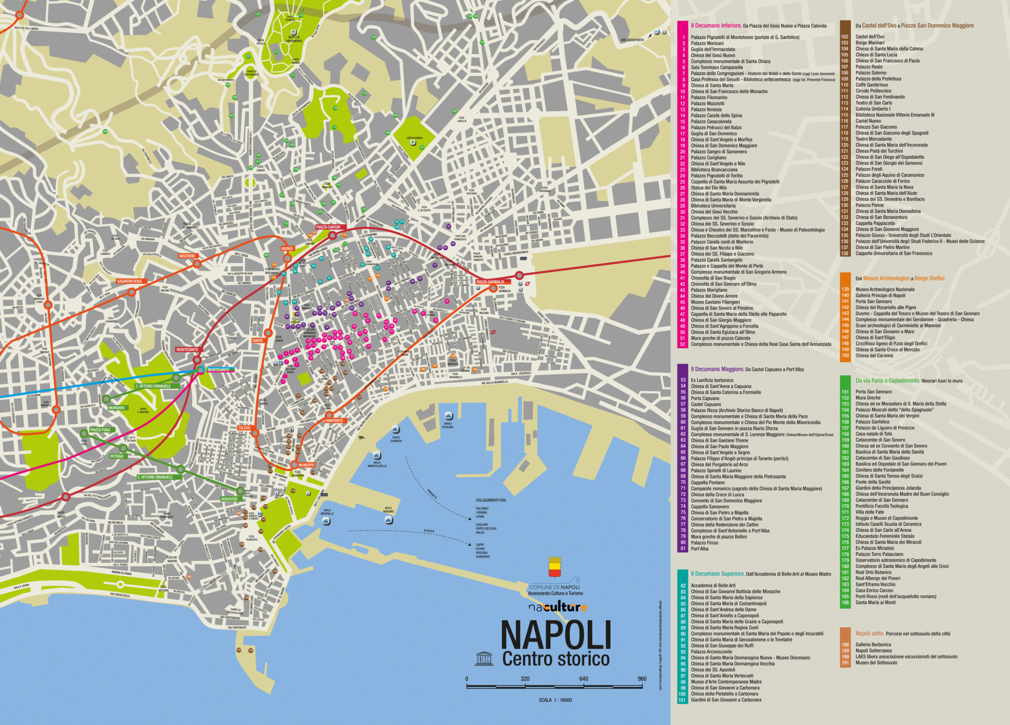 Napoli historic centre
