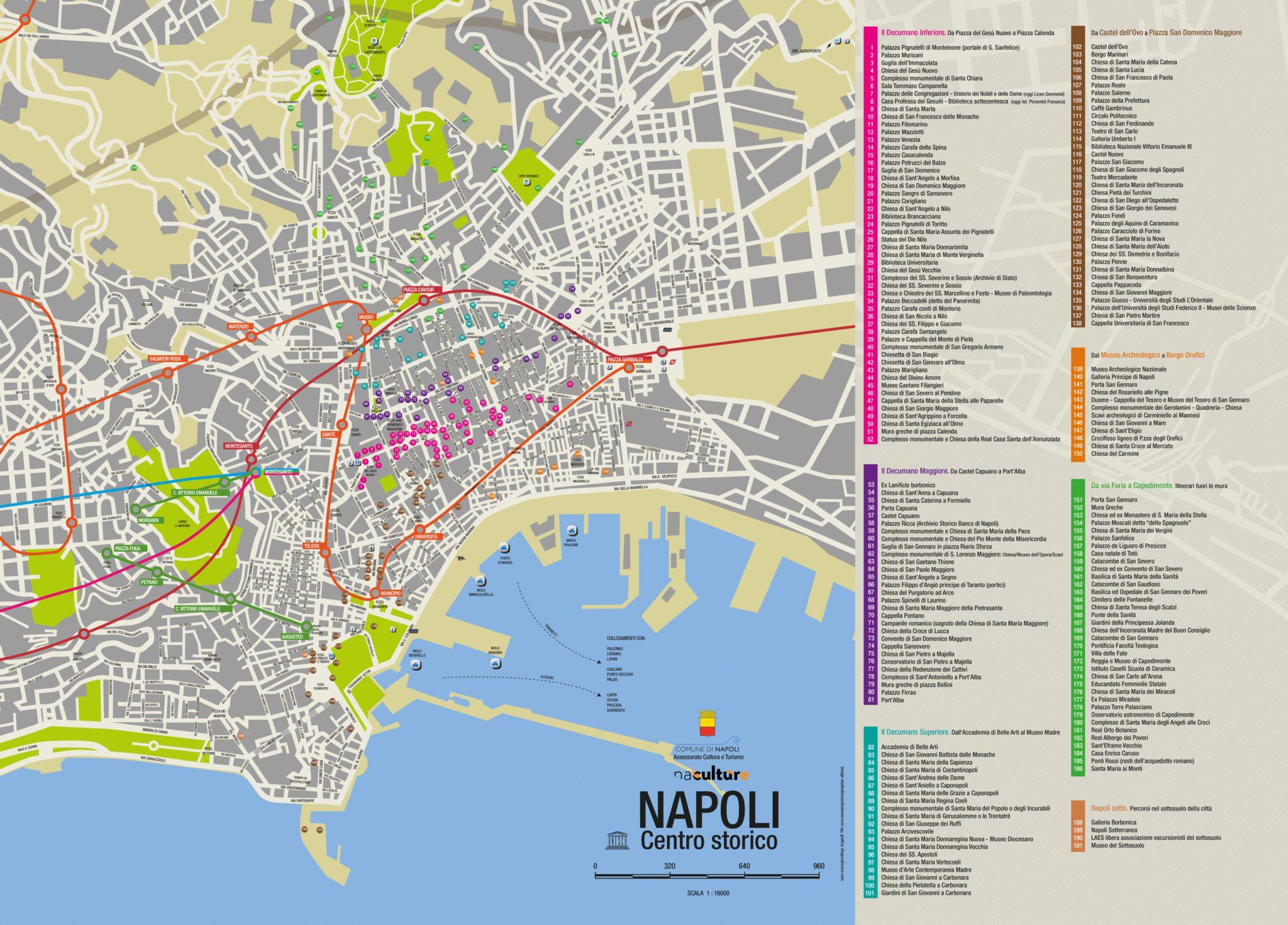 Napoli historic centre